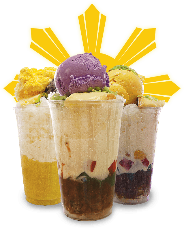 Erlinda's Customer Favorite -- halo halo